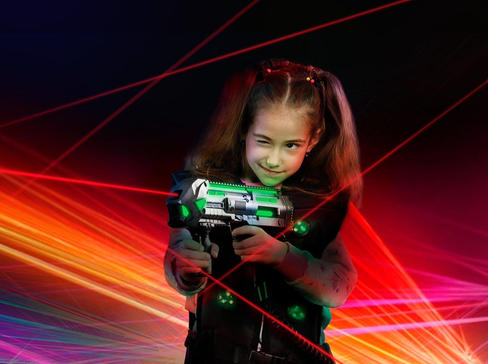 lasertag kids